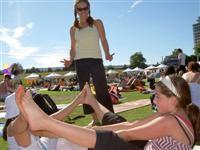 Camp Moomba Yogathon